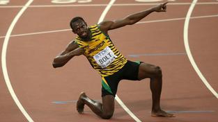 Usain Bolt vybojoval zlato v běhu na 200 metrů také na letošním mistrovství světa v Pekingu