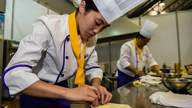 Asijský food festival v jihokorejském Inčchonu