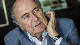 Suspendovaný šéf FIFA Sepp Blatter