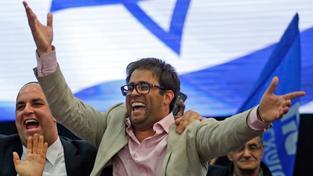 Izraelský poslanec Oren Hazan po nečekaném vítězství v letošních volbách