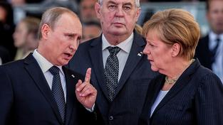 Ruský vůdce poslal do Sýrie vojáky už před několika týdny, teď se do bojů proti IS zapojí i Němci. Zeman jim to schvaluje