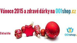 Vánoce 2015 a zdravé dárky na 001shop.cz