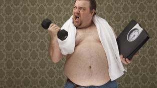 Volte reálná předsevzetí, 30 kilo těžko zhubnete za měsíc (ilustrační snímek)