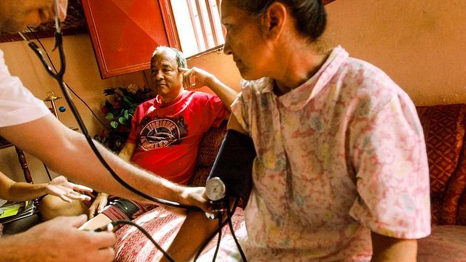 Zdravotnictví na Kubě je založené na prevenci. Ilustrační snímek