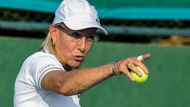 Martina Navrátilová je považována za jednu z nejlepších tenistek všech dob