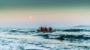 Uprchlíci u řeckých břehů