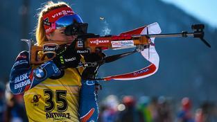 Gabriela Soukalová znovu zvýšila svůj náskok na čele Světového poháru