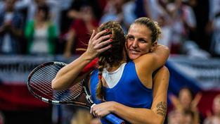 Hvězdou českého týmu byla Karolína Plíšková, která se podepsala pod všechny tři vítězné body