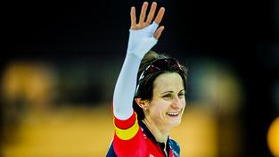 Martina Sáblíková triumfovala na stejné trati i loni v nizozemském Heerenveenu