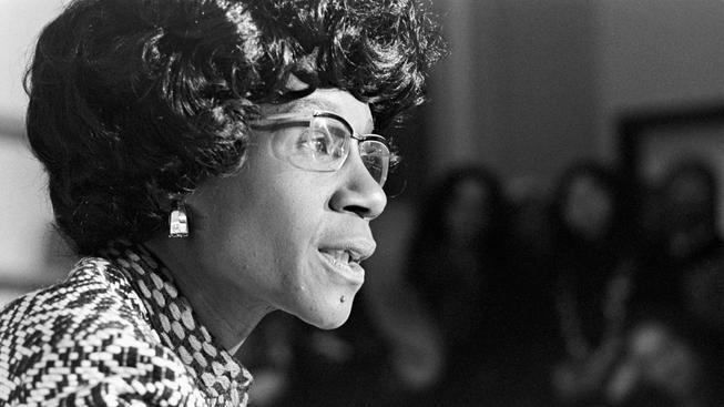 Shirley Chisholmová má na kontě hned tři prvenství: Prní Afroameričanka v Kongresu, první Afroameričan kandidující na prezidenta USA a první ženská kandidátka