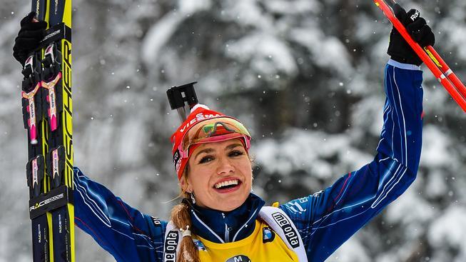 Gabriela Soukalová si výhrou upevnila vedení ve Světovém poháru