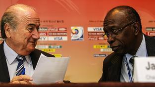 Sepp Blatter a Jack Warner