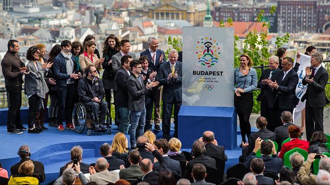 V polovině dubna představilo Maďarsko logo své olympijské kandidatury