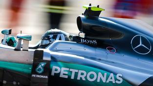 Rosbergova vítězná série trvá od Velké ceny Mexika 2015