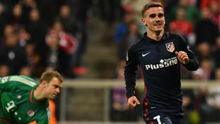 O postupu Atlética rozhodl gól francouzského útočníka Antoina Griezmanna