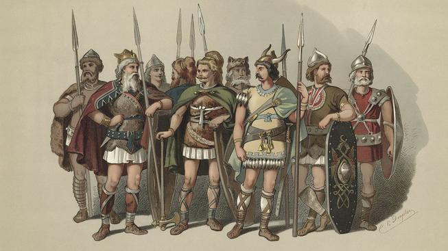Vikingové Carl Emil Doepler