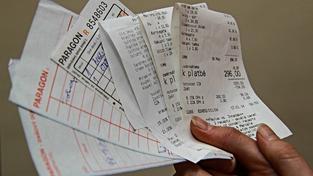 Účtenková loterie má lidi motivovat, aby od prodejců žádali účtenky. Ilustrační snímek