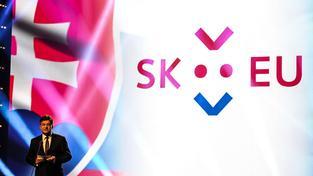 Slovenský ministr zahraničí Miroslav Lajčák představil logo slovenského předsednictví