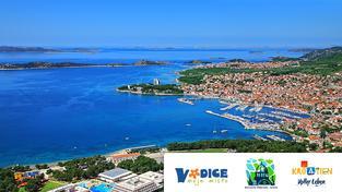 Vodice – malebné středozemní město na chorvatském pobřeží
