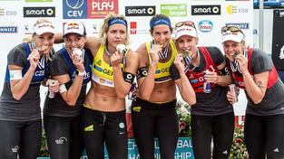 České duo (vlevo) si veze z Norska bronz
