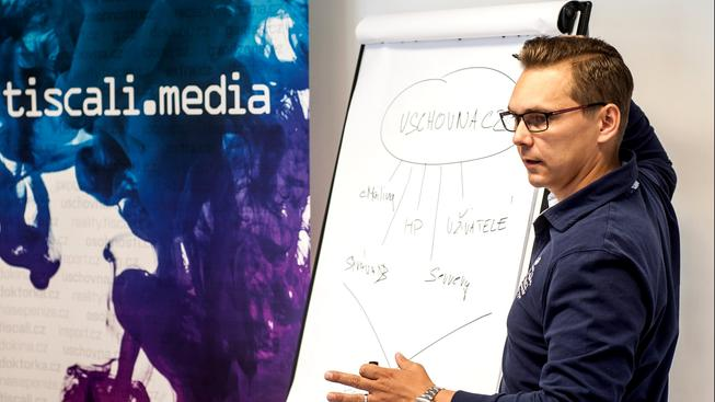 Výkonný ředitel TISCALI MEDIA, a.s. Michal Kubík
