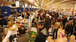 Nakupování o svátcích končí (ilustrační snímek)