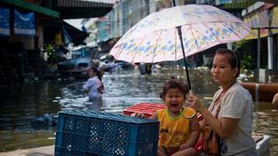 Poslední La Niňa způsobila v roce 2011 v Thajsku rozsáhlé povodně