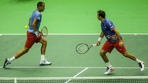 Česko je bod od vyřazení z Davis Cupu. Štěpánek a Rosol prohráli s Francií