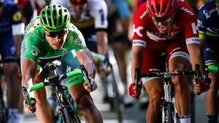 Sagan (Tinkoff) to stihl těsně před Kristoffem ze stáje Katusha