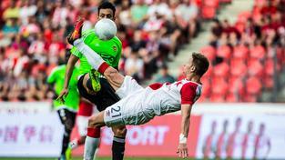 Útočník Milan Škoda nedokázal proti Portugalcům proměnit ani jednu ze svých gólových šancí