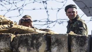 Na Ruskem anektovaný Krym se podle Putina pokusily vtrhnout ukrajinské speciální síly. Ilustrační snímek