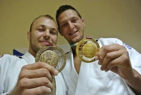 Alexandr Jurečka, Lukáš Krpálek, judo