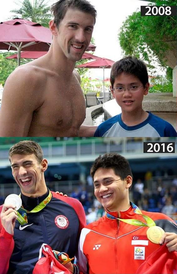 Michael Phelps, Joseph Schooling, OH 2016, Rio de Janeiro