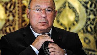 Dalil Boubakeur, rektor Velké mešity v Paříži a předseda Francouzské rady pro muslimskou víru