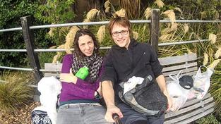 Pavlína Pížová s přítelem, který zemřel po pádu ze srázu