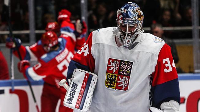 Čeští hokejisté prohráli úvodní poměřování sil s Ruskem jen o jeden gól