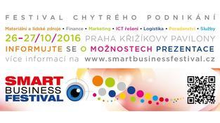 Přijďte si pro inspiraci na Smart Business Festival 2016!