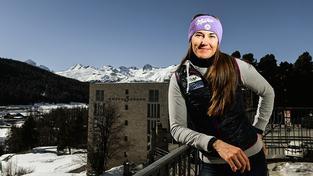 Česká lyžařka Šárka Strachová letos vstoupí do své už patnácté sezóny