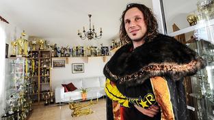 Libor Podmol se svými trofejemi