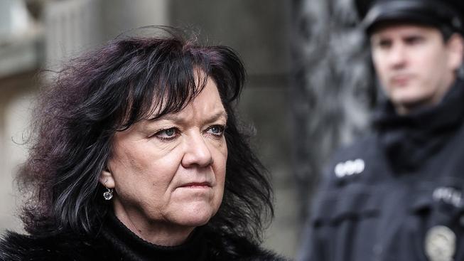 Komunistická poslankyně Marta Semelová