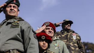 Argentinští veteráni Války o Falklandy