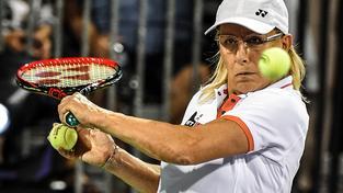Legendární tenistka Martina Navrátilová oslavila šedesátiny