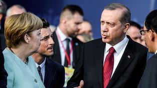Turecký prezident Recep Tayyip Erdogan pohrozil EU zrušením dohody o uprchlicích