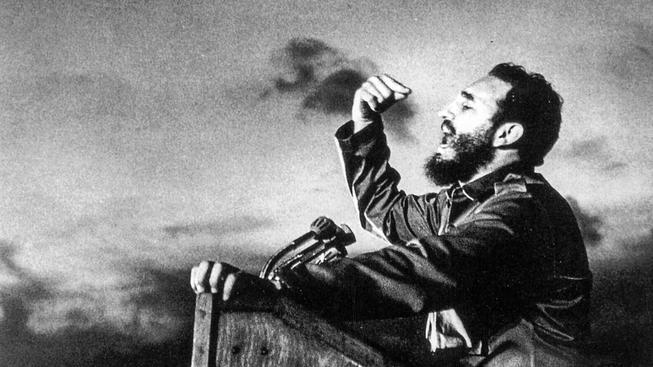 Historická fotografie Fidela Castra