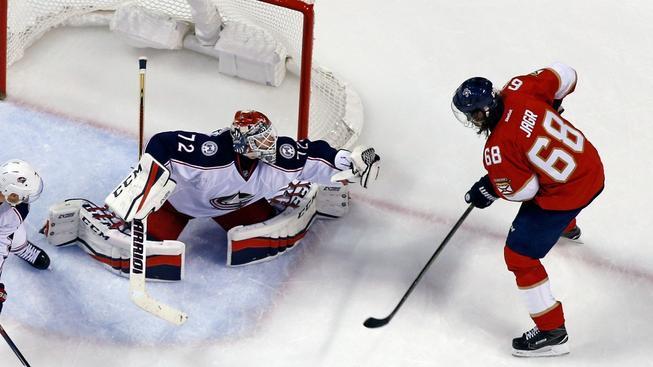 Jaromír Jágr vstřelil proti Columbusu svůj 752. gól v NHL
