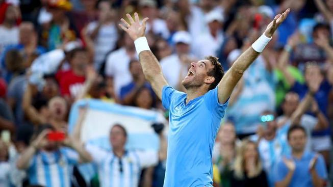 Del Potro slavil první vítězství Argetínců v Davis Cupu