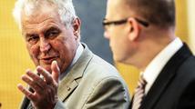 Noví ministři usedli do křesel vyhnanců Němečka a Dienstbiera