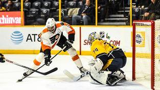 Hokejisté Philadelphie vyhráli nad Nasvillem i díky asistenci Jakuba Voráčka