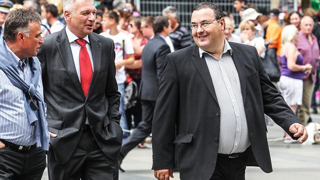 Miroslav Sklenář (vpravo) působil na Hradě za během funkčních období všech tří porevolučních prezidentů