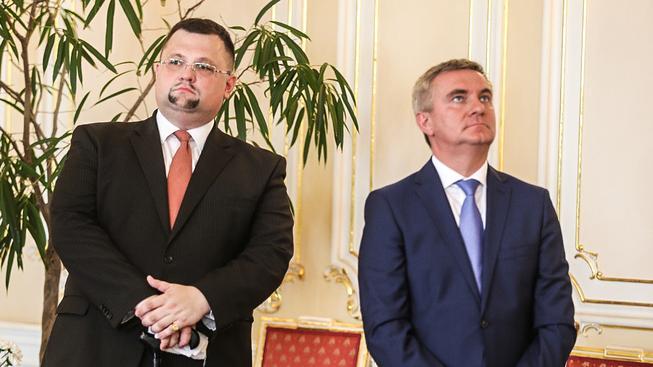 Jindřich Forejt a Vratislav Mynář